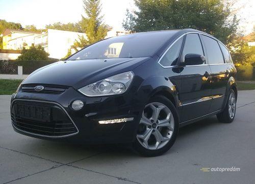 Ford S-Max TITANIUM X+, panorama, navi, xenony, PLNÁ VÝBAVA