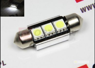 LED žiarovka sulfit 36mm 3xSMD C5W C10W CAN-BUS
