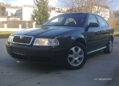 Škoda Octavia 1,9TDI 81kW/110k Elegance,tempomat,full výbava