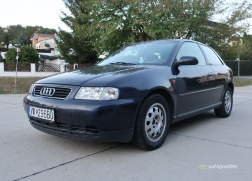 Audi A3 1,9TDI 81kW/110k, po kompletnom servise, nová STK+EK