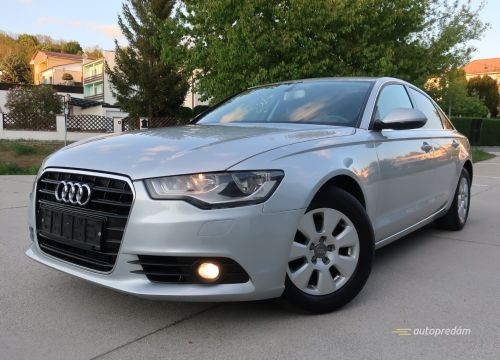 Audi A6 Business r.2012, 2,0TDI Multitronic 130kW (177k)