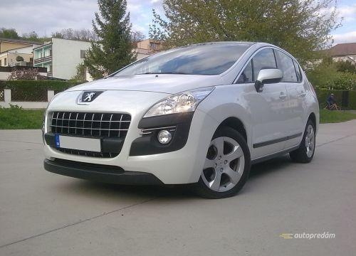 Peugeot 3008 2,0HDi 163k, navigácia, park.senzory, AUTOMAT/6