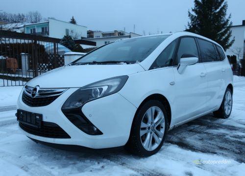 Opel Zafira Tourer Cosmo CDTI 136k, r.2015, NAVI, 7 sedadiel